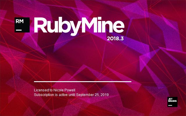 RubyMine 2018.3 免费下载 附注册激活码 破解版方法