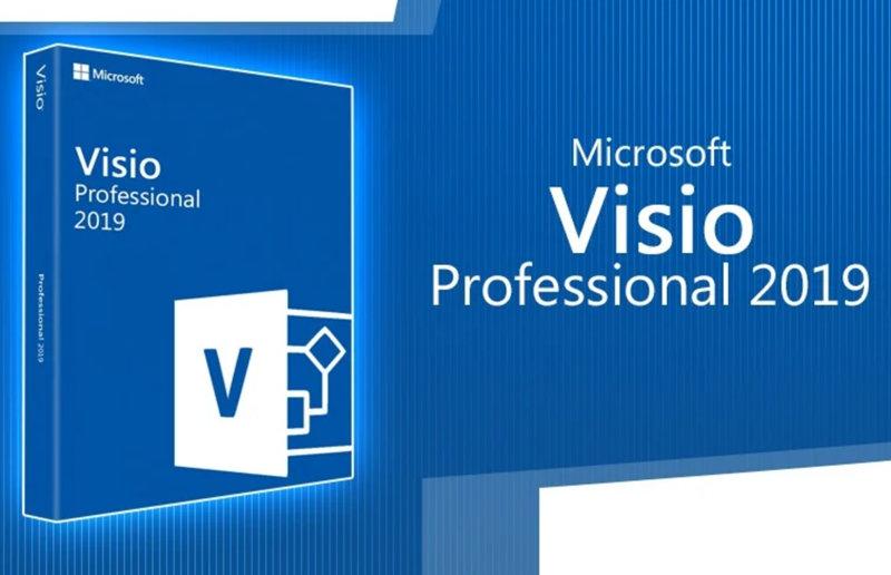 Microsoft Office visio 2019 专业版 免费下载