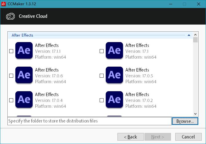 CCMaker 1.3.14 Adobe全系列下载安装激活器