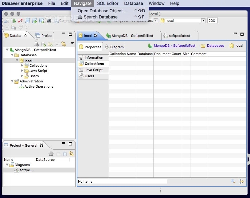 DBeaver Enterprise 7.2 for mac 企业特别版附激活注册