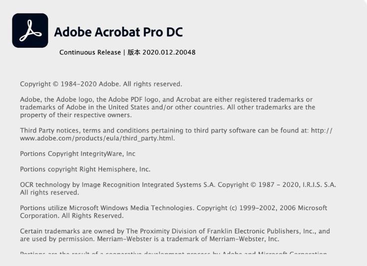 Acrobat PRO DC 2020 for mac 专业特别破免费下载