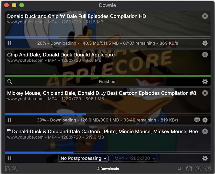 Downie4.2.8 视频下载工具