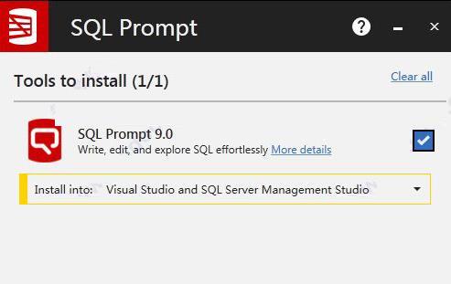 SQL Prompt v9.0.9 注册特别版附安装激活教程